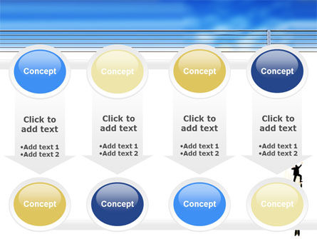 Reaching Success PowerPoint Template Slide 18