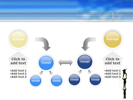 Reaching Success PowerPoint Template Slide 19