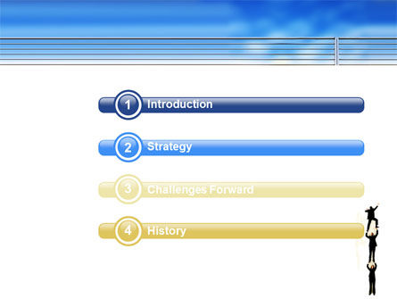 Reaching Success PowerPoint Template Slide 3