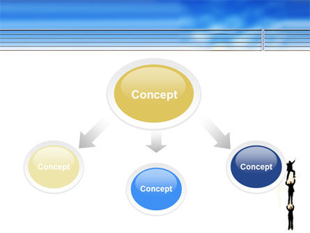 Reaching Success PowerPoint Template Slide 4