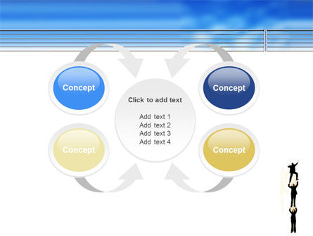 Reaching Success PowerPoint Template Slide 6