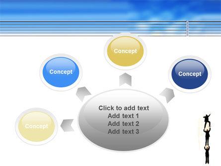 Reaching Success PowerPoint Template Slide 7