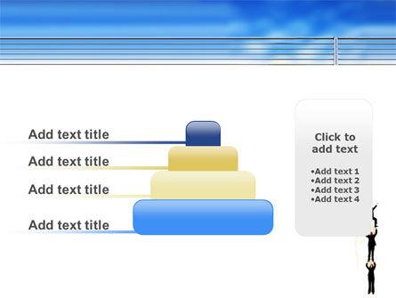 Reaching Success PowerPoint Template Slide 8