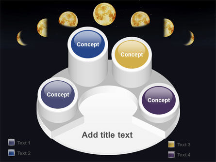 Lunar Phases PowerPoint Template Slide 12