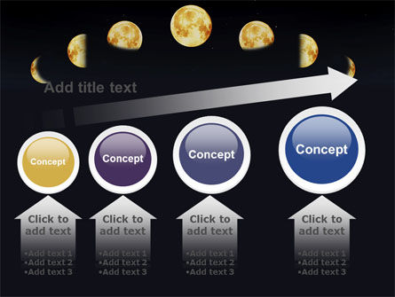 Lunar Phases PowerPoint Template Slide 13
