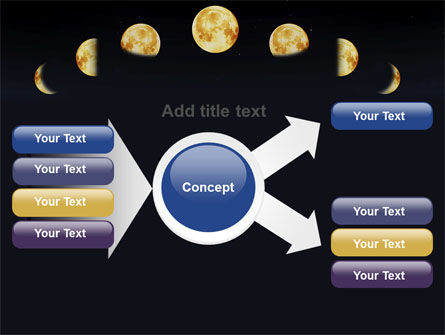 Lunar Phases PowerPoint Template Slide 14