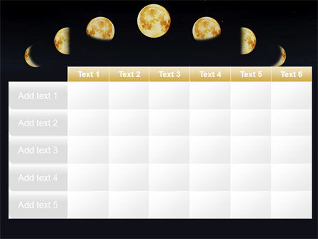 Lunar Phases PowerPoint Template Slide 15
