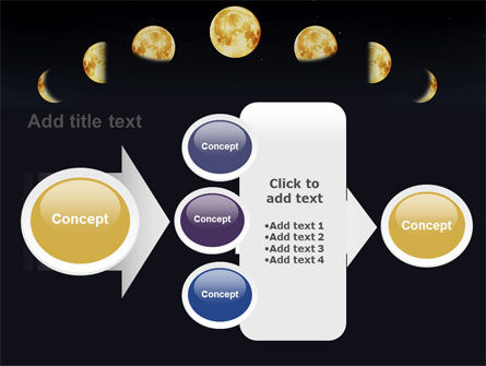 Lunar Phases PowerPoint Template Slide 17