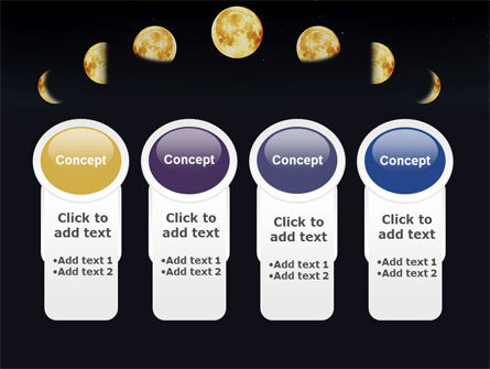 Lunar Phases PowerPoint Template Slide 5
