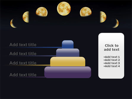 Lunar Phases PowerPoint Template Slide 8