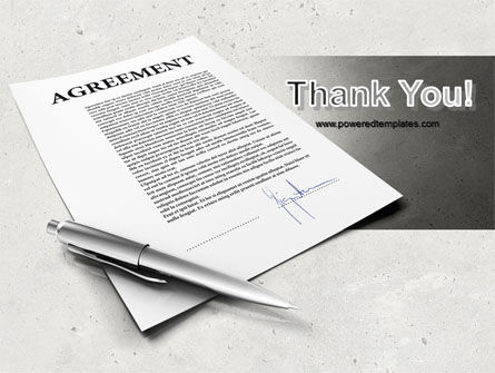 Agreement PowerPoint Template Slide 20