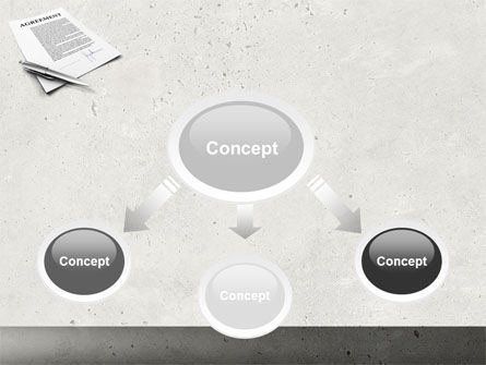 Agreement PowerPoint Template, Slide 4, 04652, Consulting — PoweredTemplate.com