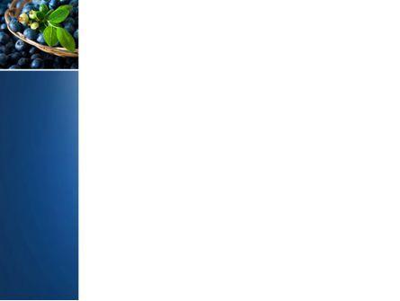 Bilberry PowerPoint Template, Slide 3, 04655, Agriculture — PoweredTemplate.com