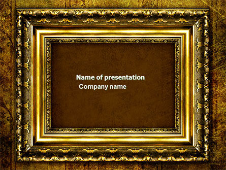 Abstract/Textures: Frame PowerPoint Template #04656