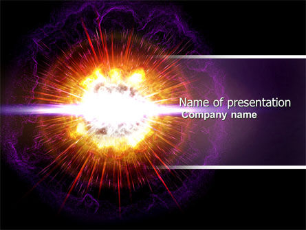 Supernova PowerPoint Template