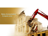 Construction: Demolition PowerPoint Template #04661