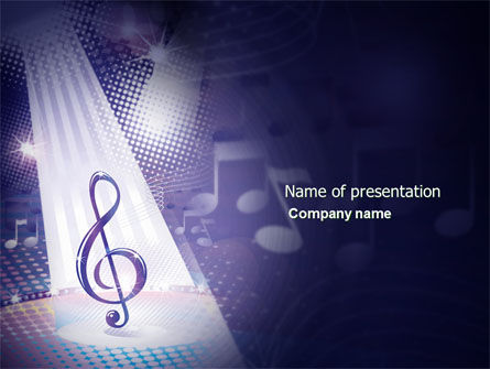 Music Tune PowerPoint Template