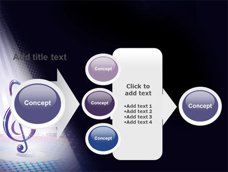 Music Tune PowerPoint Template Slide 17