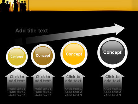 Silhouettes PowerPoint Template Slide 13