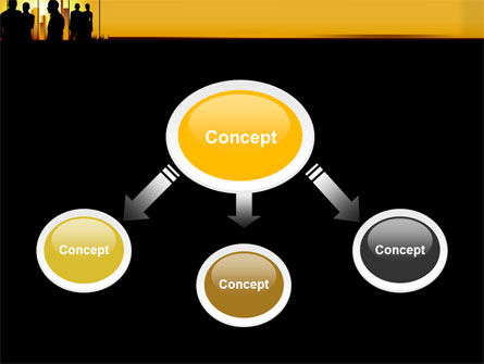 Silhouettes PowerPoint Template, Slide 4, 04665, Business — PoweredTemplate.com