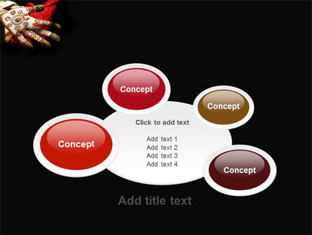 Hennaed Hands PowerPoint Template Slide 16