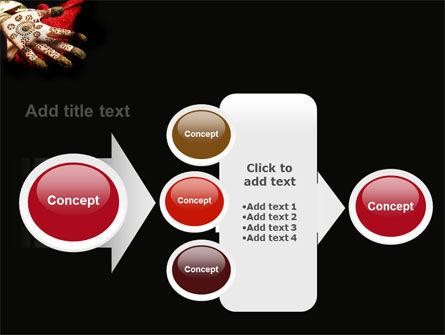 Hennaed Hands PowerPoint Template Slide 17