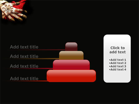Hennaed Hands PowerPoint Template Slide 8
