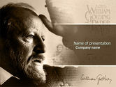 William Golding PowerPoint Template#1