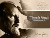 William Golding PowerPoint Template#20