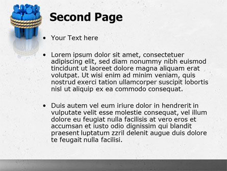 Hostages PowerPoint Template, Slide 2, 04672, Consulting — PoweredTemplate.com