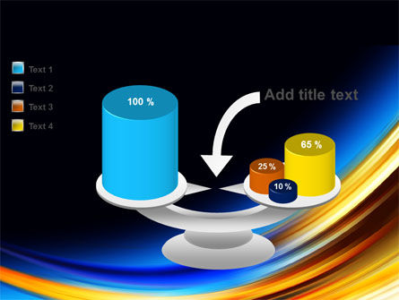 Abstract Arc PowerPoint Template Slide 10