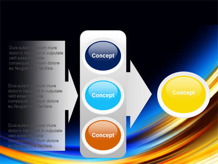 Abstract Arc PowerPoint Template Slide 11