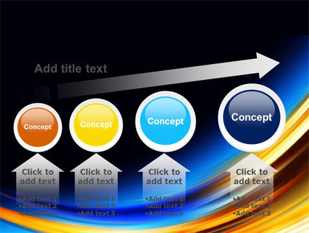Abstract Arc PowerPoint Template Slide 13