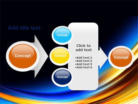 Abstract Arc PowerPoint Template Slide 17