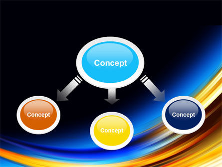 Abstract Arc PowerPoint Template Slide 4