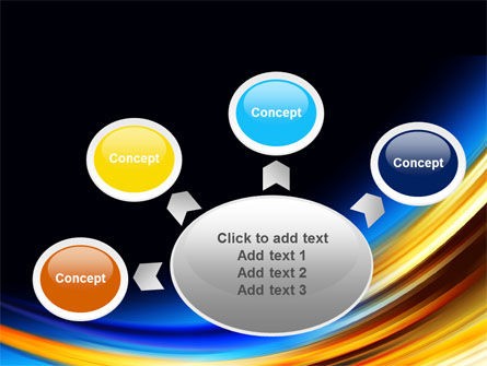 Abstract Arc PowerPoint Template Slide 7