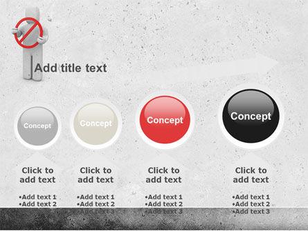 Forbidden PowerPoint Template Slide 13