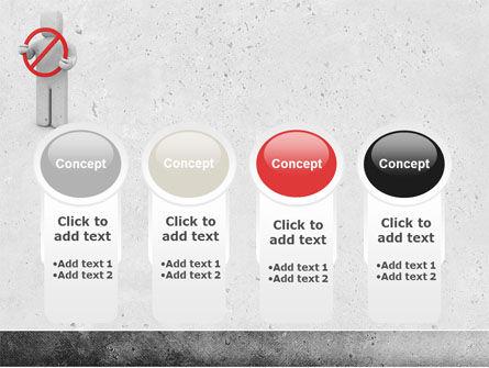 Forbidden PowerPoint Template Slide 5