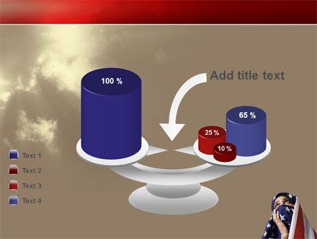American Moslem PowerPoint Template Slide 10