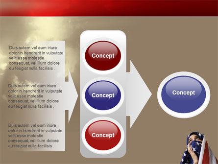 American Moslem PowerPoint Template Slide 11