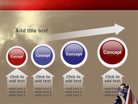American Moslem PowerPoint Template Slide 13