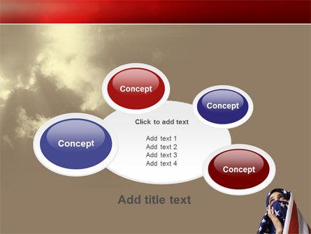 American Moslem PowerPoint Template Slide 16