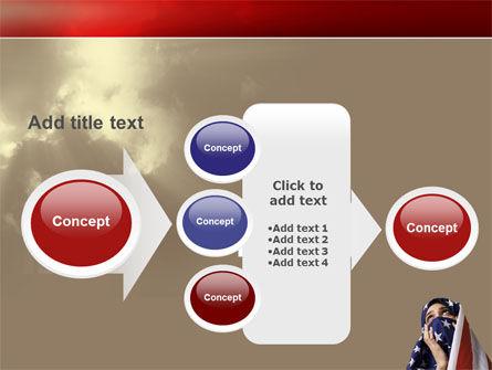 American Moslem PowerPoint Template Slide 17