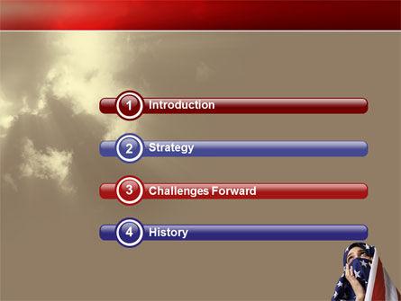 American Moslem PowerPoint Template Slide 3