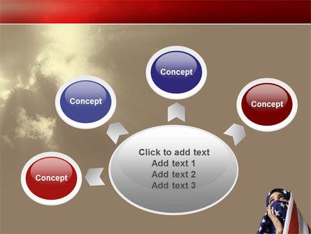 American Moslem PowerPoint Template Slide 7