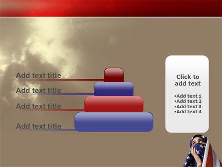 American Moslem PowerPoint Template Slide 8