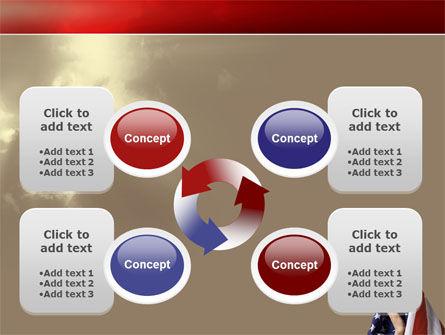 American Moslem PowerPoint Template Slide 9