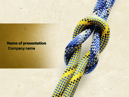 Business Concepts: Reef Knot PowerPoint Template #04678
