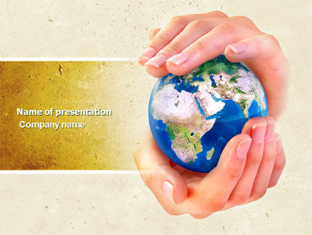World Control PowerPoint Template, 04681, Global — PoweredTemplate.com