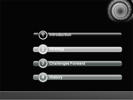 Spiral Staircase PowerPoint Template, Slide 3, 04683, Construction — PoweredTemplate.com